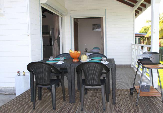 Bungalow à Capesterre-Belle-Eau - T3 Bleu des îles - CAPESTERRE-BELLE-EAU
