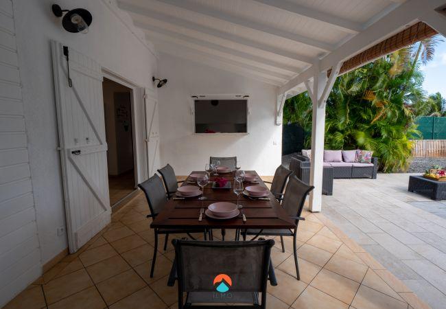 Villa à Saint-François - T4 Loggan - SAINT-FRANCOIS - piscine