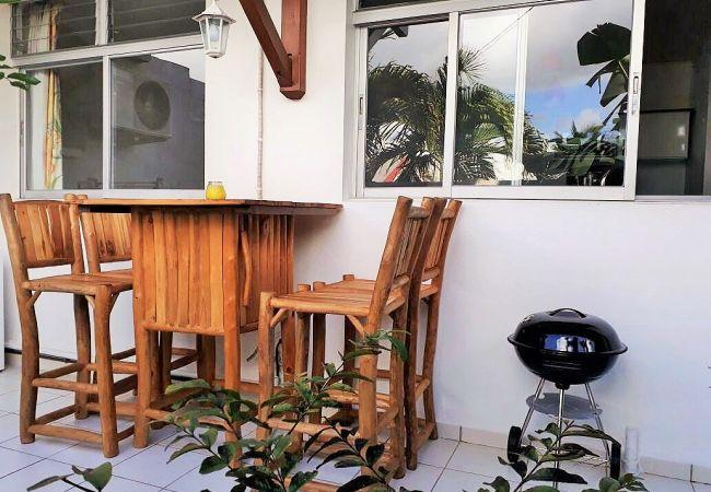 Ferienwohnung in Le Gosier - T2 Pomme Cannelle - GOSIER proche centre